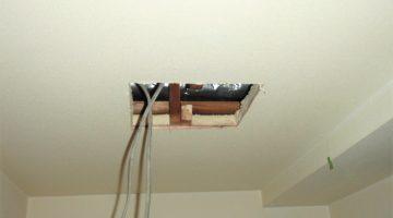 上の部屋から水漏れ 壁・天井補修(東京都中野区)