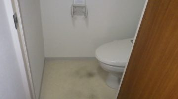 トイレ・洗面所床の張り替えリフォーム(東京都中野区)